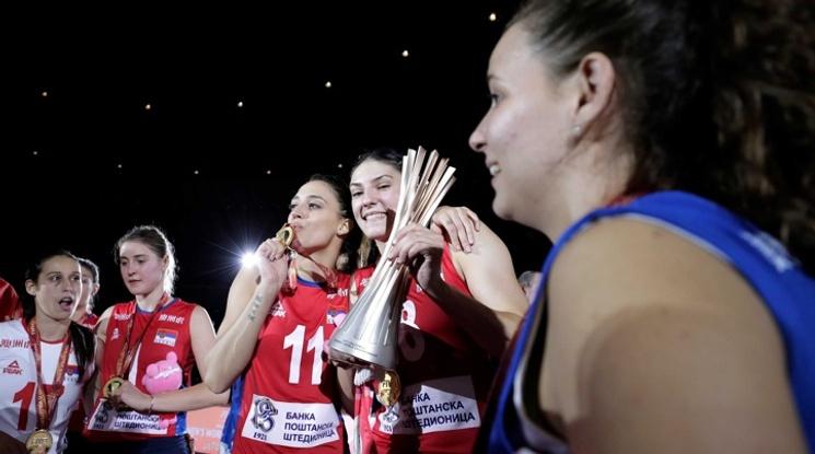 Волейболистките на Сърбия триумфираха със световната титла в Япония