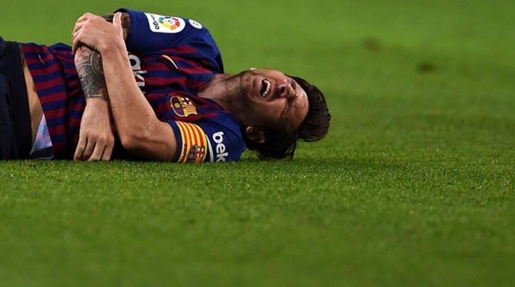 Потвърдено: Лео Меси е аут за три седмици