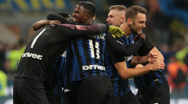 Интер би Милан с гол в добавеното време
