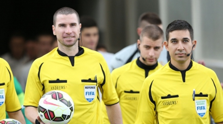 Георги Кабаков и бригадата му получиха наряд за възлов мач от Лига Европа