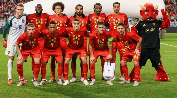Белгия е едноличен лидер в световната ранглиста на ФИФА