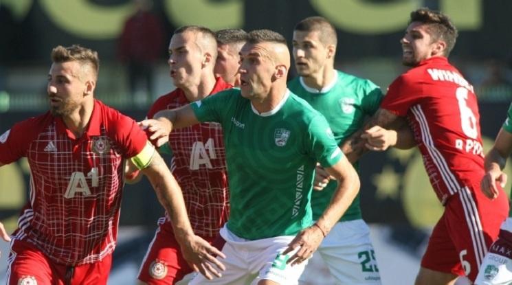 Берое не се даде на ЦСКА, Мауридес изпорти дузпа