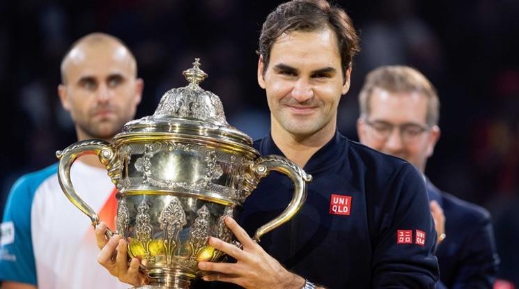 Федерер с титла номер 99 в кариерата си