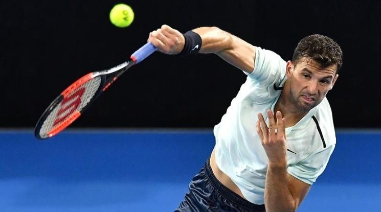 Григор Димитров тръгна с победа в Париж