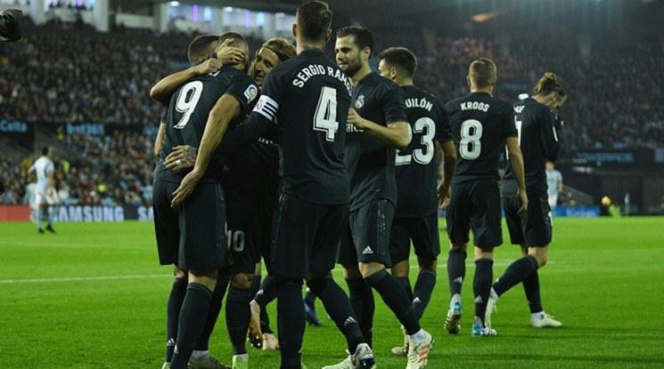 """Реал Мадрид  удари Селта на """"Балаидос"""" (видео)"""