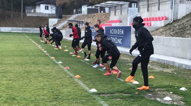 ЦСКА тренира без шестима национали