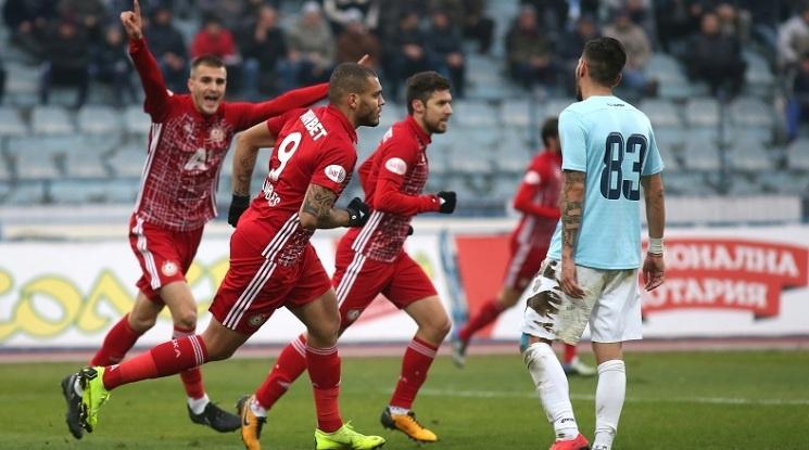 ЦСКА не срещна трудности срещу Дунав