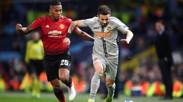 Юнайтед пречупи Йънг Бойс с късен гол (видео)