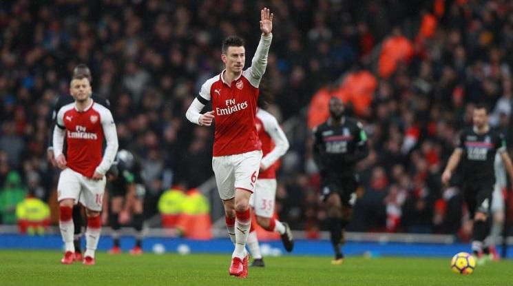 Капитанът на Арсенал отново в игра през уикенда