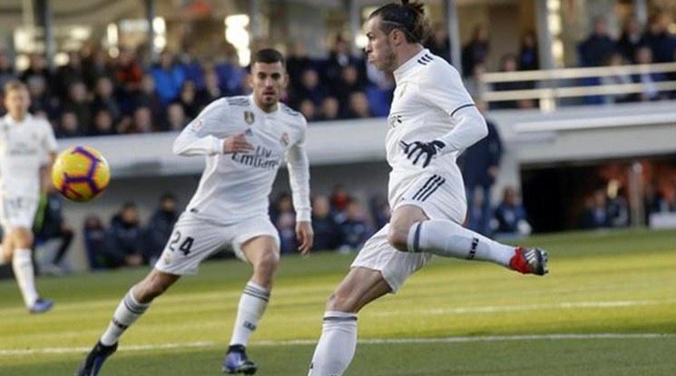 Гол на Бейл донесе 3 точки на Реал срещу опашкар (видео)