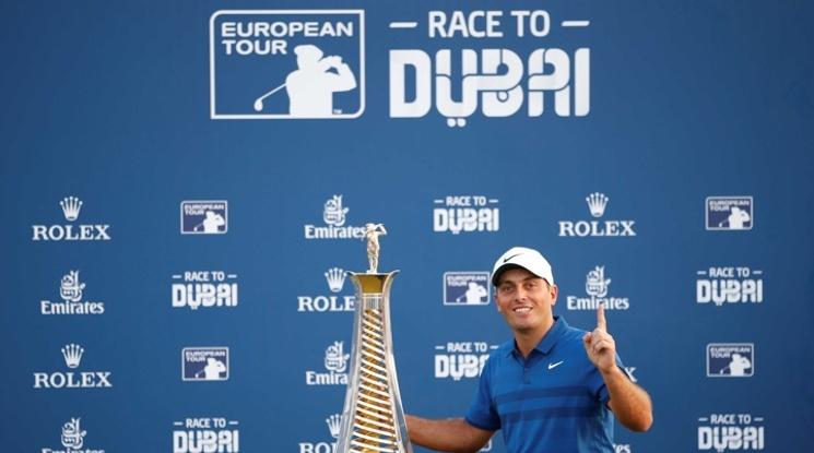 Молинари бе определен за най-добър голфър в Европейския тур за 2018 г.