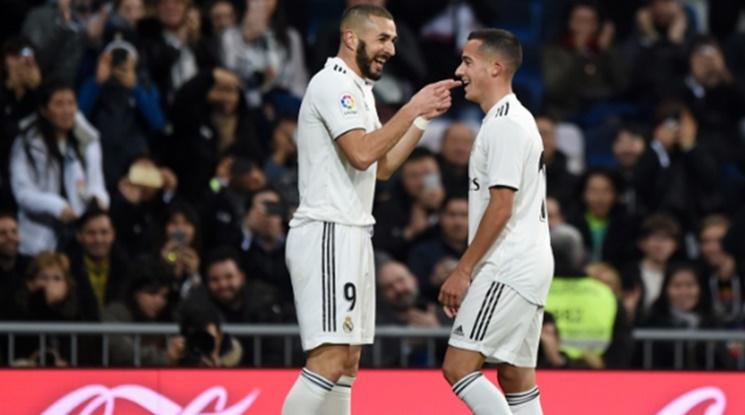 Реал Мадрид с измъчена победа над предпоследния в Примера (видео)
