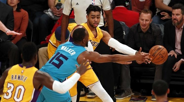 ЛА Лейкърс разгроми Шарлът, Детройт прекъсна победна серия на Бостън