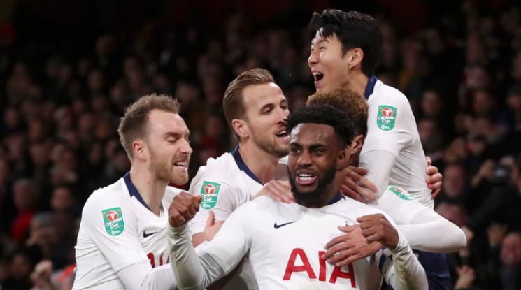 Тотнъм и Челси си уредиха среща за място на финала за Купата на Лигата (видео)