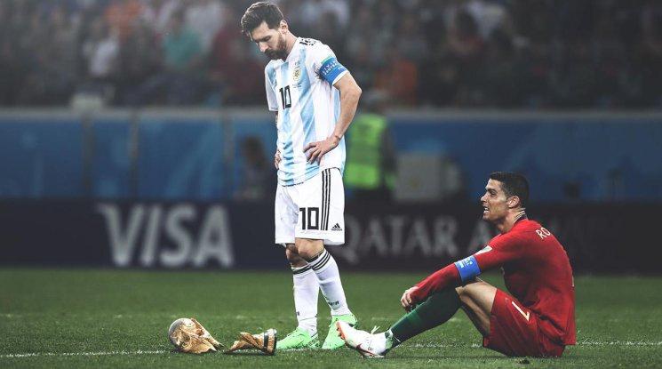 2018-а във футбола: Краят на ерата Меси-Роналдо