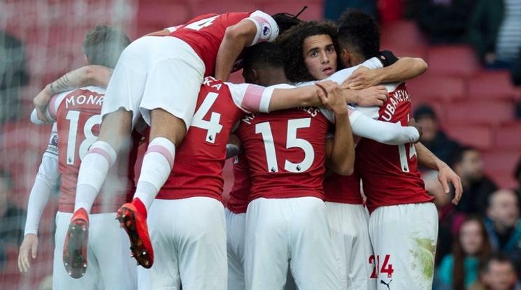 Арсенал с убедителна победа над Фулъм