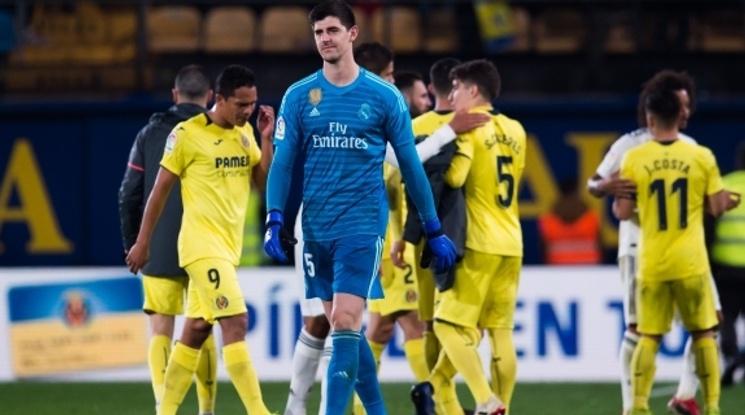 Реал Мадрид се издъни в първия си мач за годината (видео)