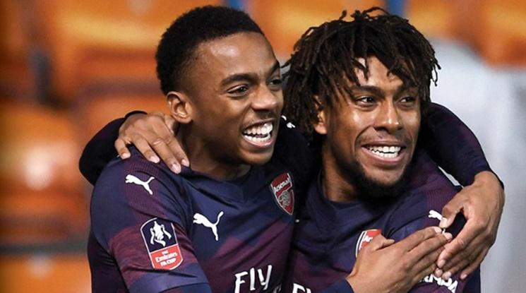 19-годишен се развихри за Арсенал срещу Блекпул (видео)