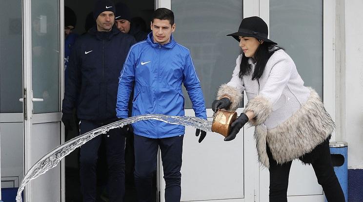 Левски проведе първа тренировка за годината