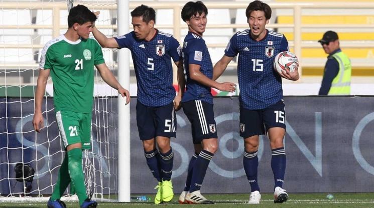 Япония започна с труден успех участието си за Купата на Азия