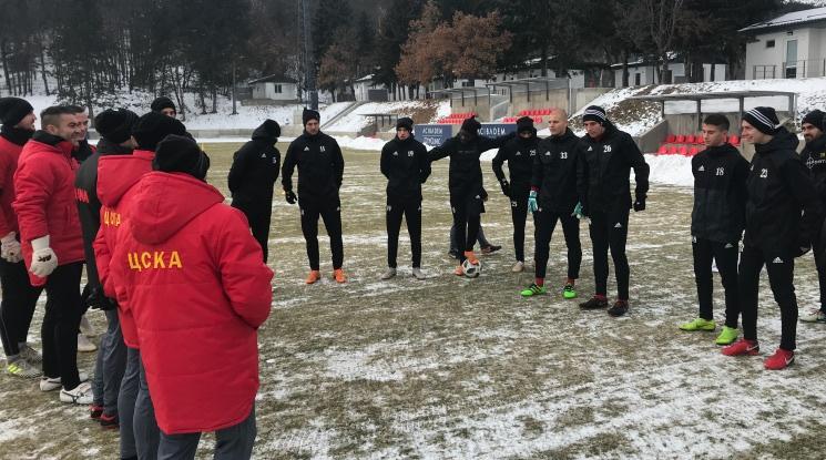 ЦСКА даде старт на зимната си подготовка