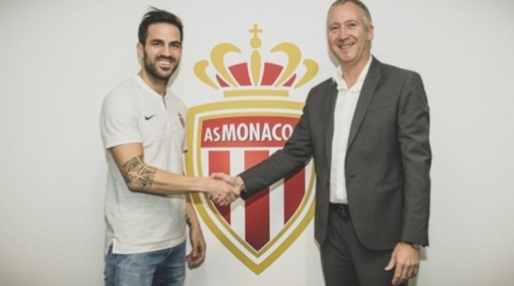 Официално: Монако привлече Фабрегас