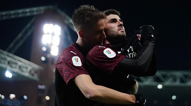 Милан и Юве се класираха за 1/4-финалите за Купата (видео)