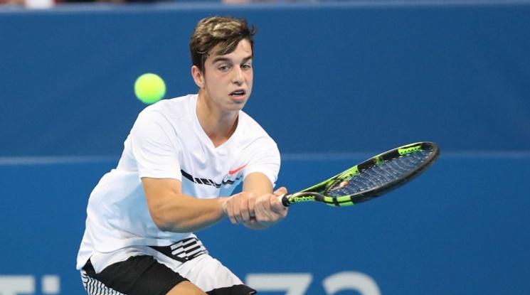 Адриан Андреев e новата надежда на българския тенис