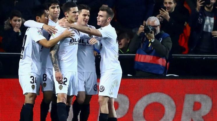 Валенсия и Хетафе са 1/4-финалисти за Купата на Испания (видео)