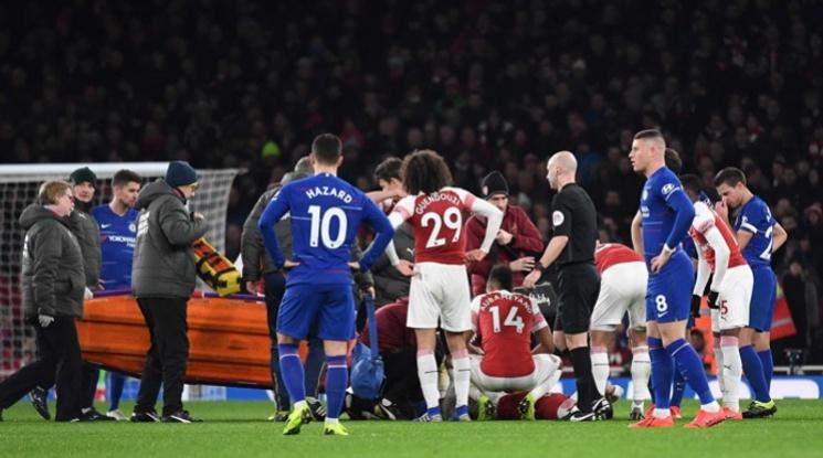 Арсенал няма да търси заместник на контузения Бейерин