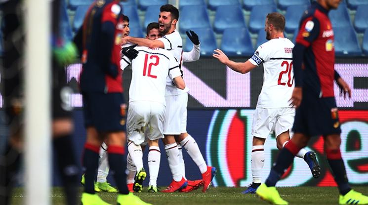 Милан се завърна в топ 4 след успех над Дженоа (видео)