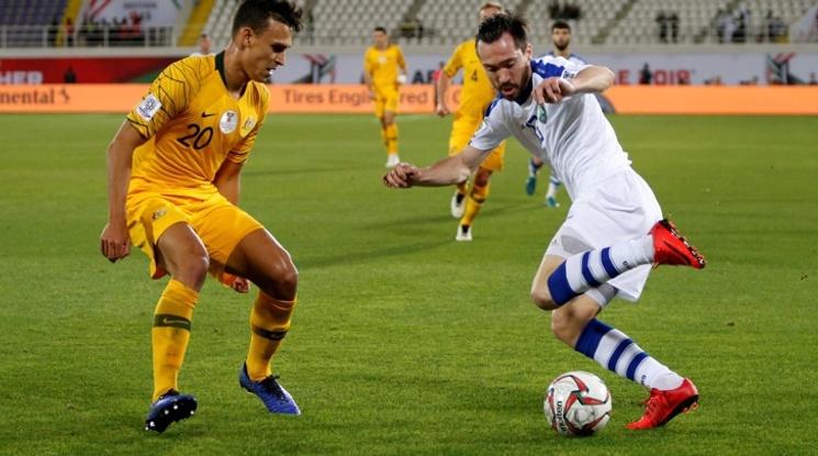 Дузпи пратиха Австралия на 1/4-финал за Купата на Азия