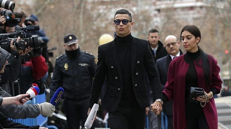 Роналдо прие условна присъда и глоба от €18,8 млн.