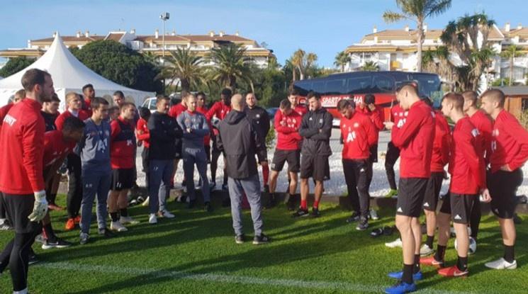 ЦСКА ще удължи лагера си в Испания до 5 февруари