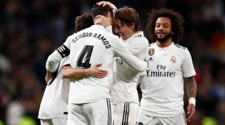 Реал допусна два гола, но надви Жирона за Купата на Краля (видео)