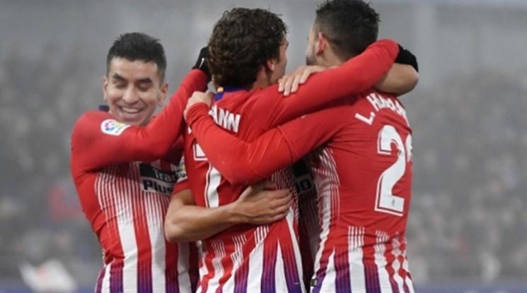 Атлетико пречупи Хетафе за едно полувреме (видео)