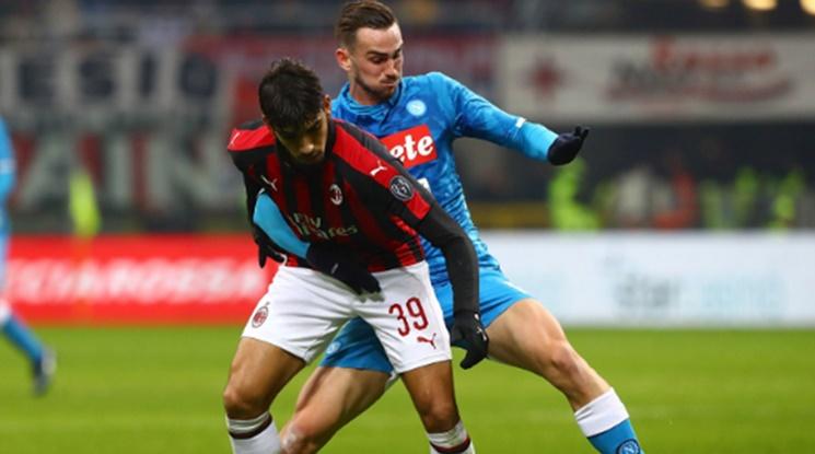 Нулево реми в дербито между Милан и Наполи (видео)