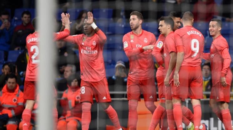 Реал се развихри срещу Еспаньол