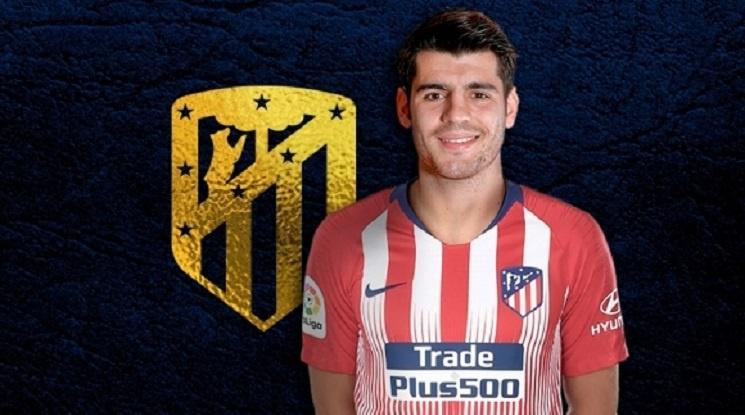 Официално: Алваро Мората премина в Атлетико