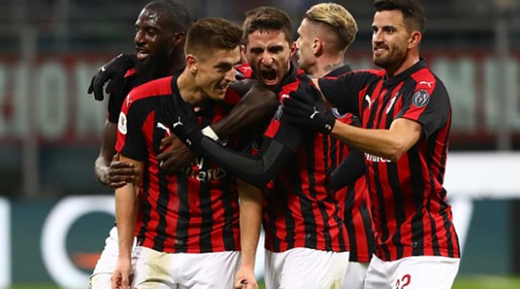 Новата голова машина на Милан прониза Наполи (видео)