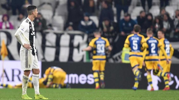 Парма изтръгна равен срещу Юве в звезден мач в Торино (видео)