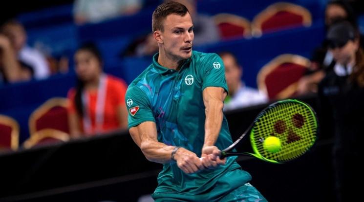 Мартон Фучович е първият финалист в София
