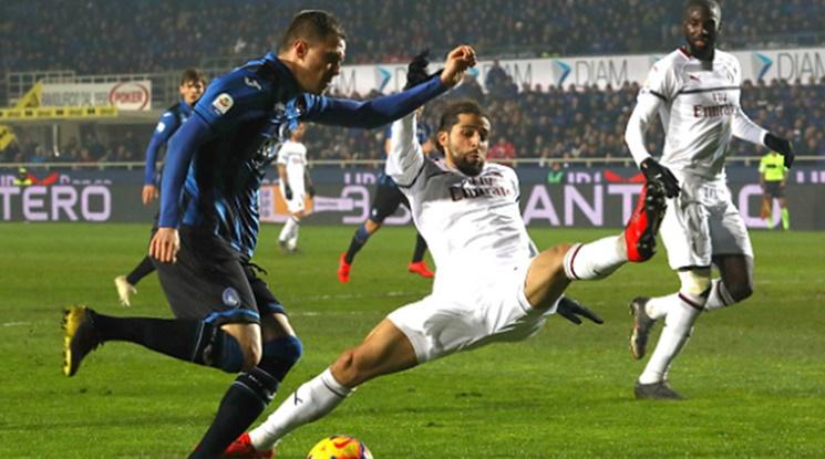 Милан триумфира в Бергамо (видео)