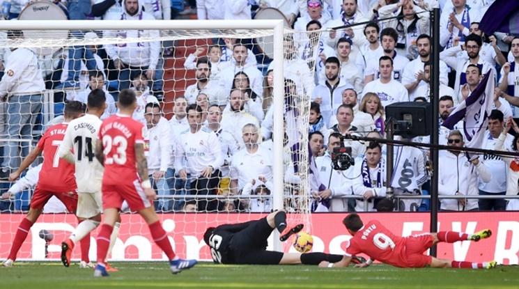 Каталунци поставиха Реал на колене в Мадрид (видео)