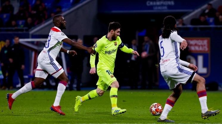 Лион и Барселона останаха непобедени