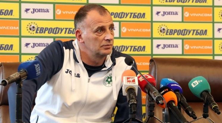 Антони Здравков ще води Лудогорец и срещу Черно море