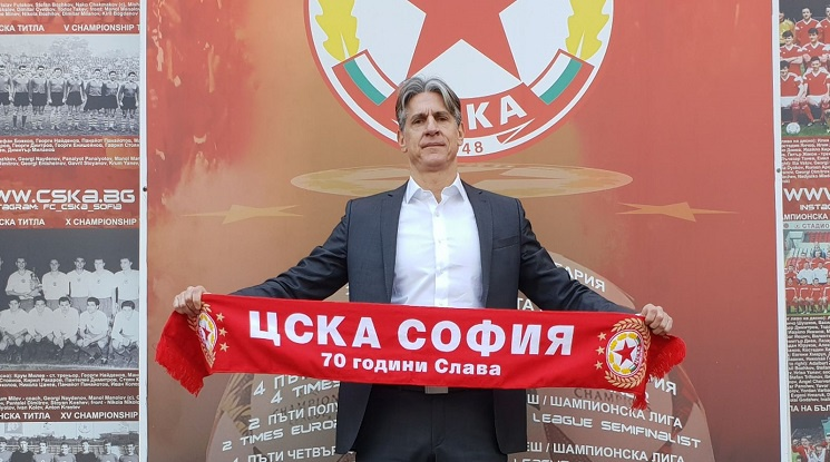 Кристиано Джарета е новият спортен директор на ЦСКА (видео)