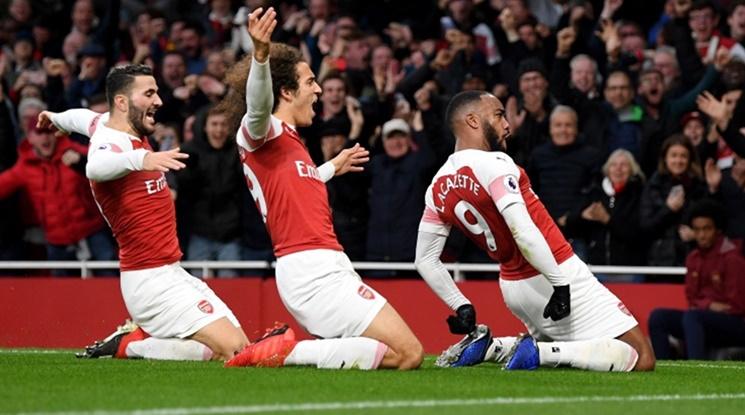 """Арсенал отново е в топ 4 след бой над """"светците"""" (видео)"""