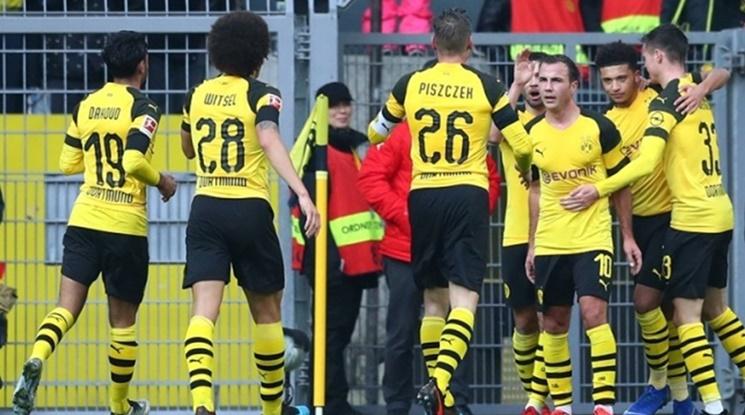 Дортмунд се върна на пътя на победите (видео)