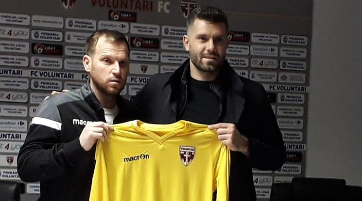 Божидар Митрев подписа с румънски клуб